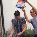 Jamie Dornan Eddie Redmayne Doing ALS Ice Bucket Challenge
