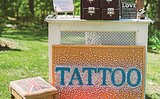 This Bride's Bohemian Wedding Had a Tattoo Parlor!