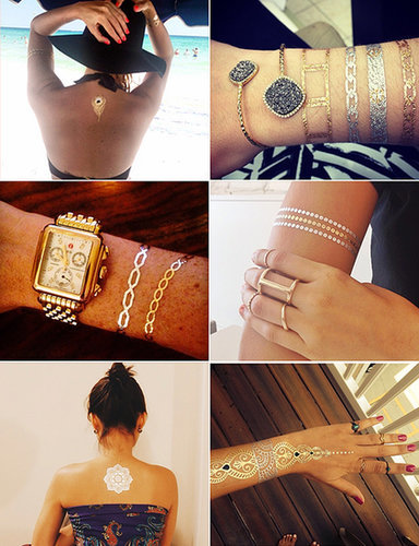 Real People Show Off the Chicest Ways to Wear Flash Tattoos