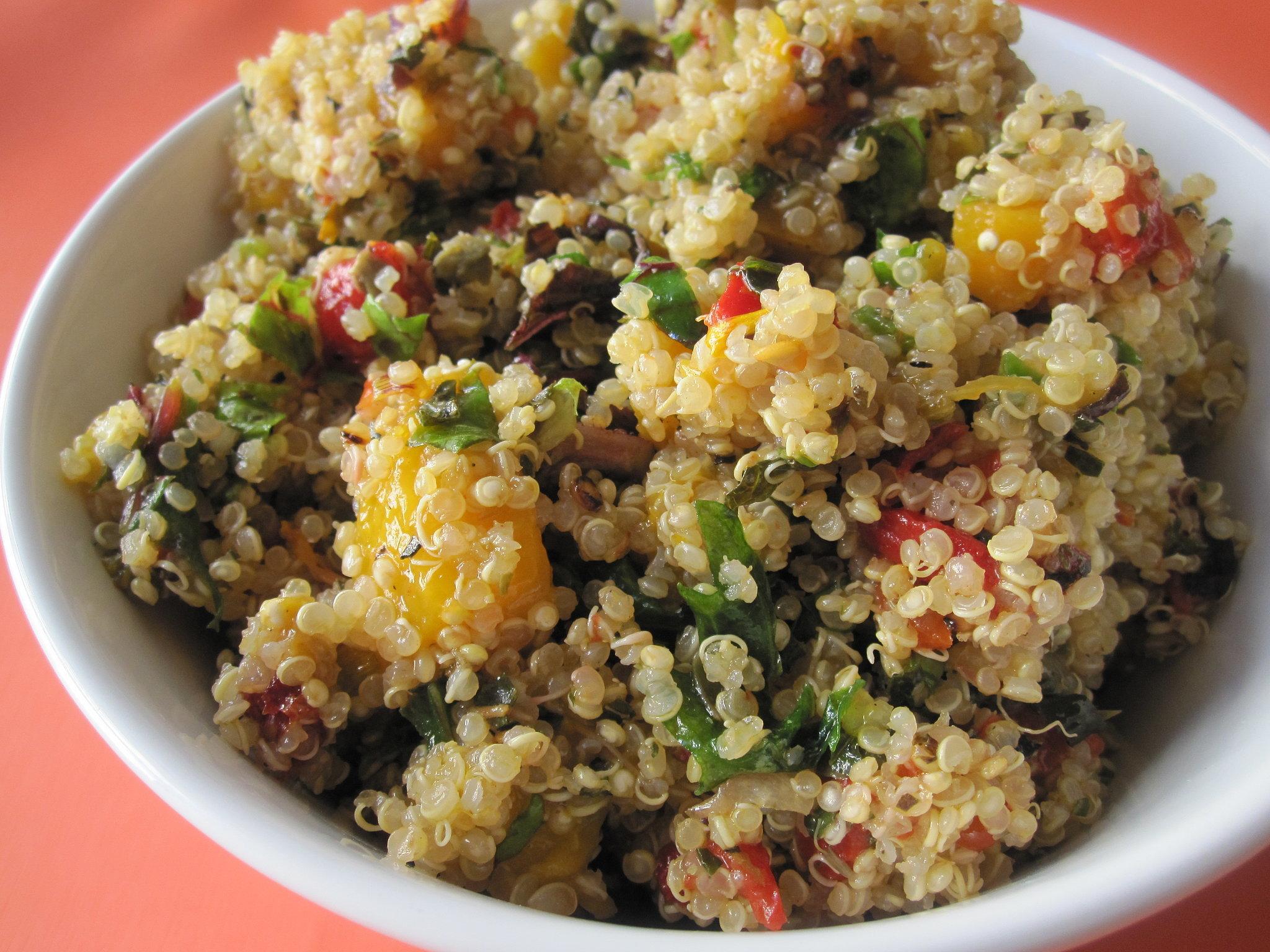 Quinoa and Mango Salad