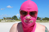 FASHION DARE: I Wore A Facekini to the Beach