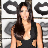 Kim Kardashian in a Revealing Black Jumpsuit