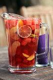 Watermelon-Berry Rosé Sangria