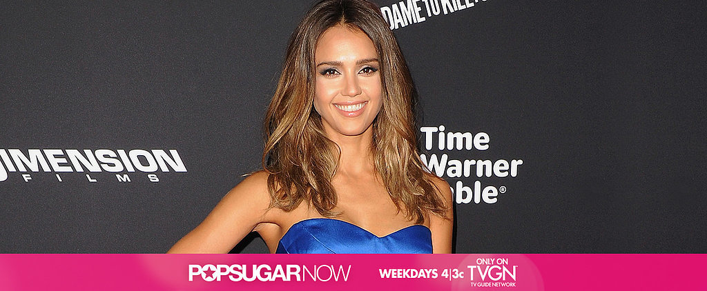 Today on POPSUGAR Now: Jessica Alba Talks Sin City 2