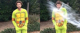 Liam Hemsworth Does the Ice Bucket Challenge . . . in a TMNT Onesie