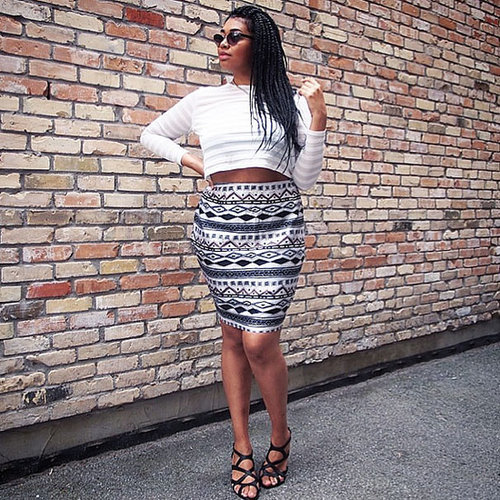 Plus-Size Street Style   August 21, 2014