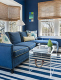 Room of the Day: Nautical Chic Brings the Cozy to a Family Room (3 photos)