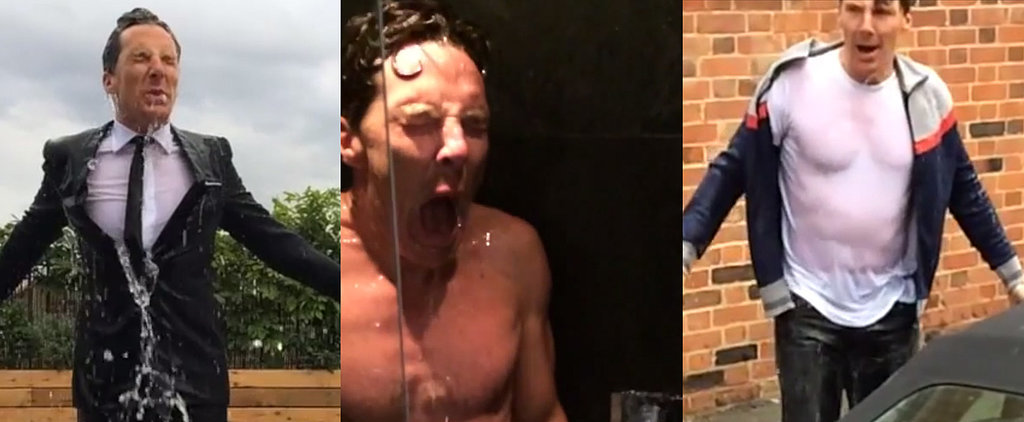 Yes, Benedict Cumberbatch Did His Ice Bucket Challenge Naked