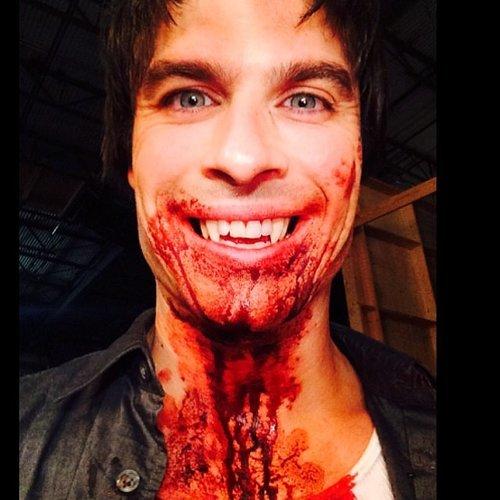 The Vampire Diaries Season 6 Instagram Pictures