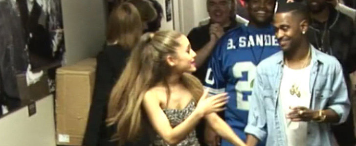 Ariana Grande Shows PDA With Big Sean at the VMAs
