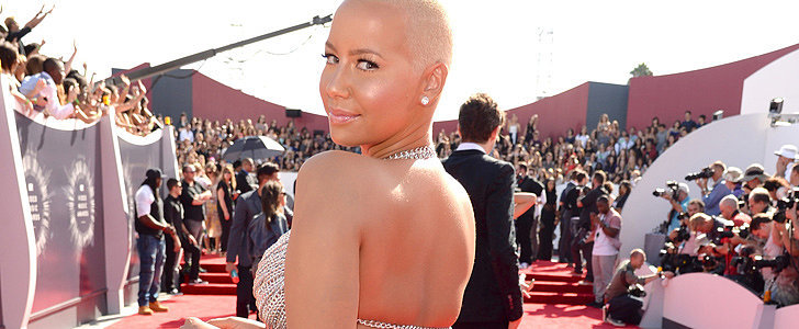 Was Amber Rose's Risqué VMAs Outfit Inspired by Another Rose?
