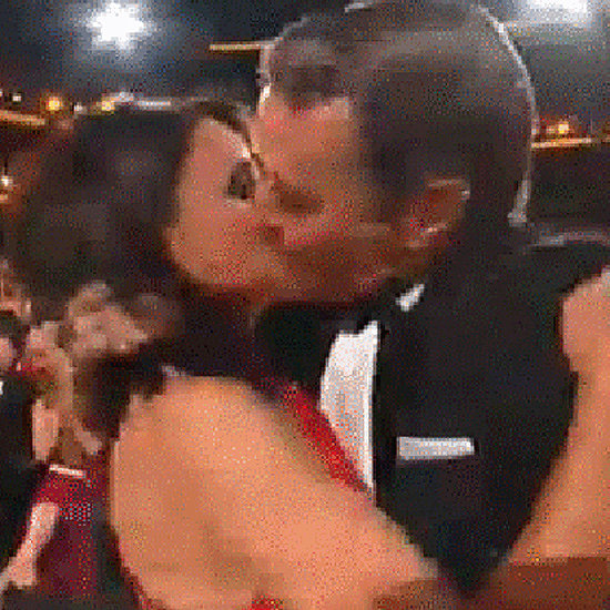 Bryan Cranston and Julia Louis-Dreyfus Kiss at 2014 Emmys