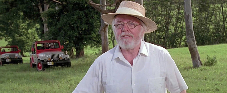 Remember the Late Richard Attenborough With His Famous Line From Jurassic Park