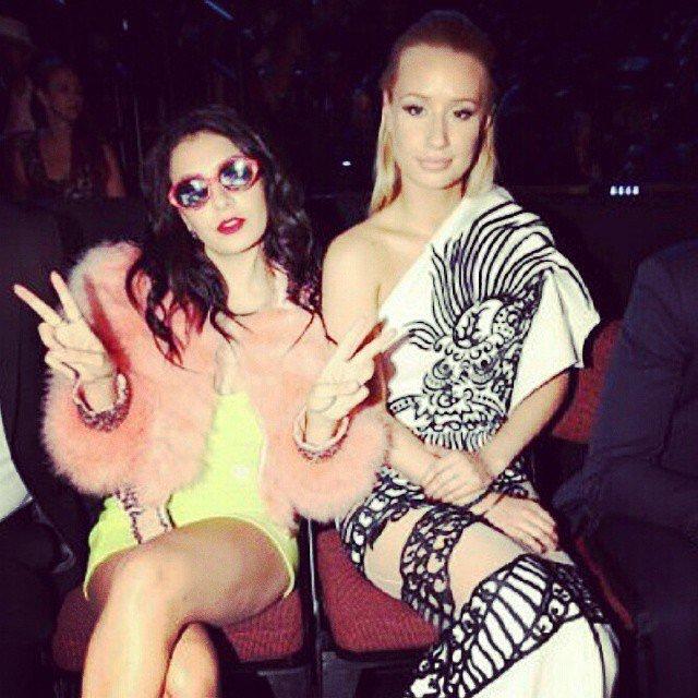 Charli XCX and Iggy Azalea made keeping the peace look glamorous.