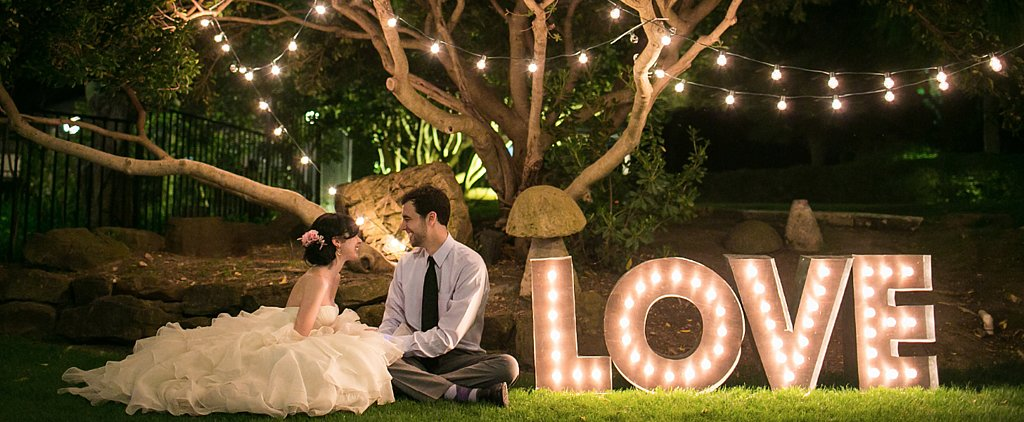 This Artist's Quirky DIY Wedding Is So Sweet It'll Make Your Teeth Hurt
