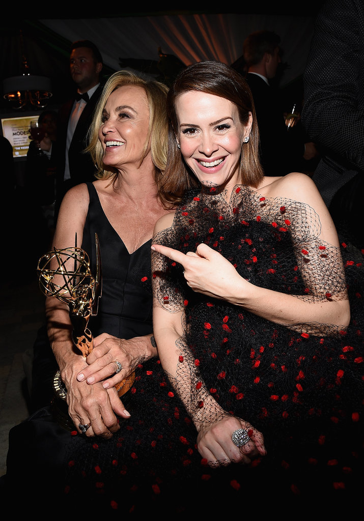 Sarah Paulson was so excited to be in the presence of Jessica Lange.