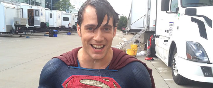 "Henry Cavill's Ice Bucket Challenge Was ""So Cold"" Yet So Hot"