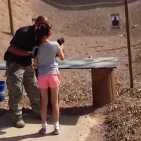 9-Year-Old Shoots Instructor