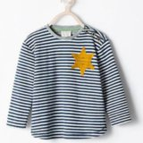Zara Kids' Shirt Looks Like Nazi Concentration-Camp Uniform