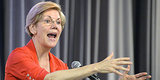 Elizabeth Warren Defends Israeli Shelling of Gaza Schools, Hospitals