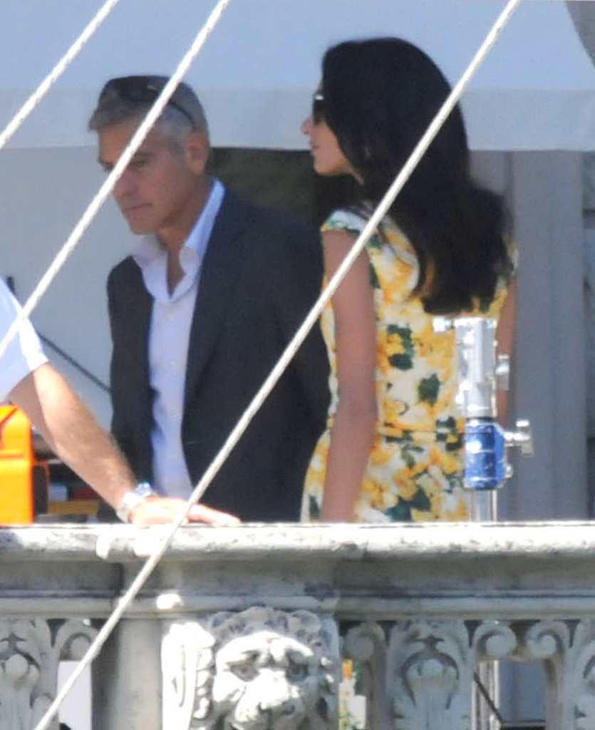 George Clooney Shares His Congratulations For Brad and Angie!