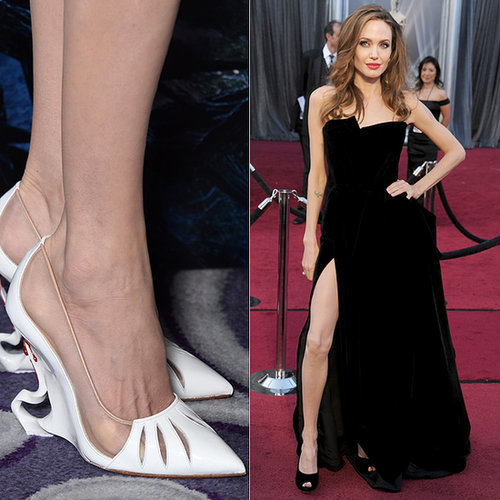 One Thing's For Sure: Angelina Jolie Did NOT Wear These to Her Wedding