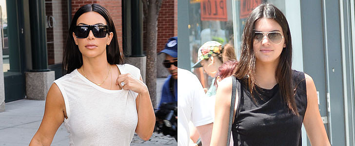 Who Had a More Stylish Summer: Kim or Kendall?