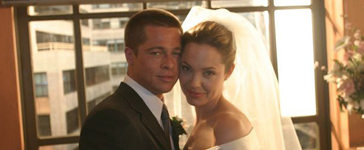 Remembering The First Real Picture of Brad Pitt and Angelina Jolie's Wedding