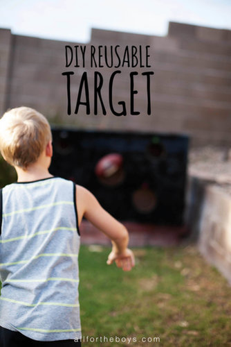 Make a Reusable Target With an Old Box