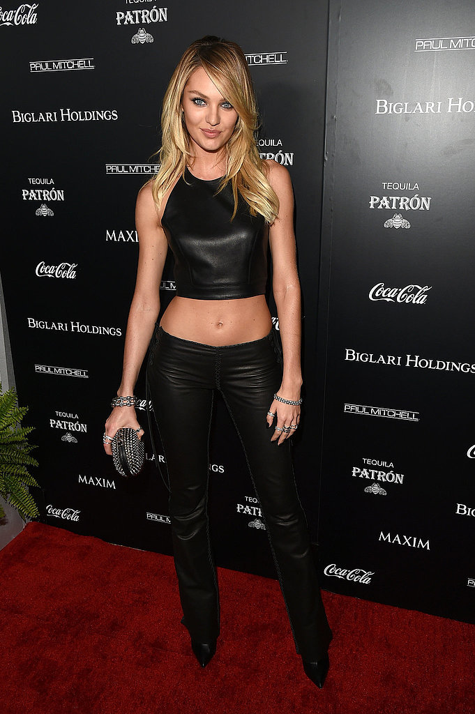 Candice Swanepoel at Maxim's Hot 100 Party