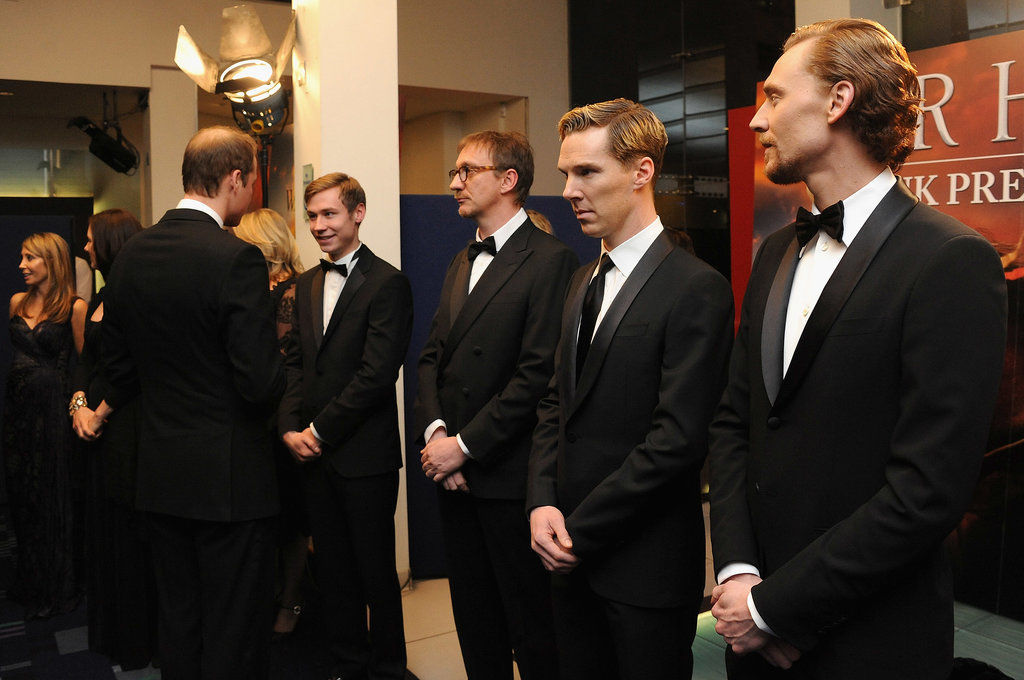 They Both Kept Their Cool Around Prince William