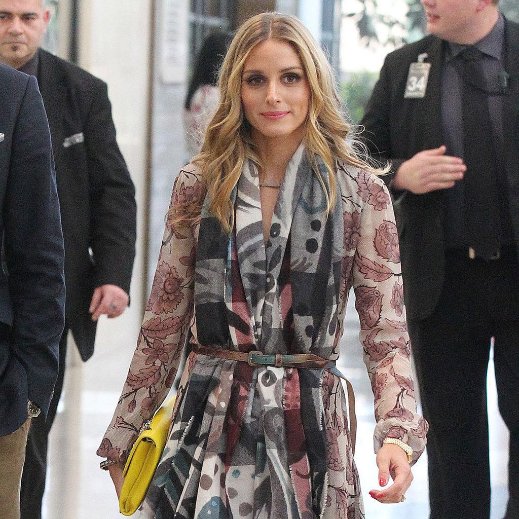 Olivia Palermo Wears Burberry Fall 2014 | Street Style