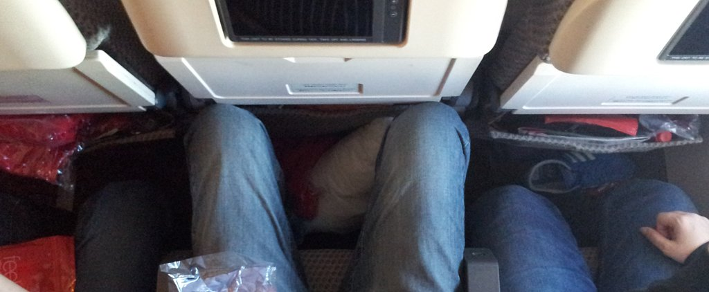How Far Would You Go to Protect Your Knees on a Flight?