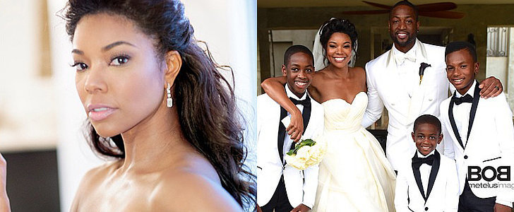 Gabrielle Union Shares Glamorous and Sweet Wedding Pictures