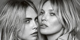 Kate Moss And Cara Delevingne Steam Up New My Burberry Fragrance Ad