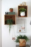 10 Wall-Mounted Wire Baskets as Storage