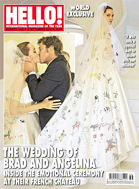 Angelina Jolie's Wedding Day Beauty