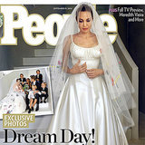 Angelina Jolie's Wedding Dress Isn't Even Her Best Versace Look