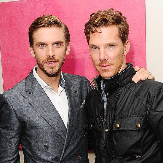 Benedict Cumberbatch And Dan Stevens At The Guest Screening