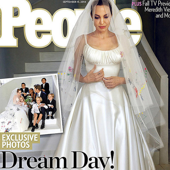 9 Looks Angelina Jolie Didn't Wear to Her Wedding —and 1 She Did
