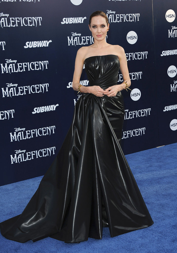Angelina Jolie at the 2014 Maleficent Premiere