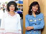 Lark Voorhies Looks Unrecognizable in Strange Makeup in Rare Public Appearance