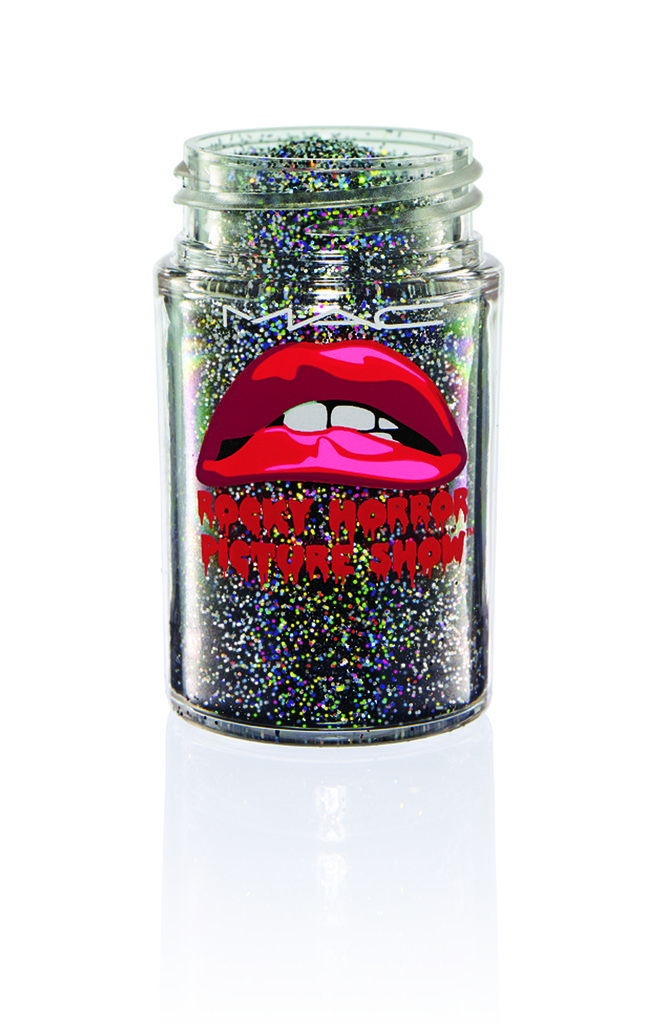 3D Black Glitter ($23)