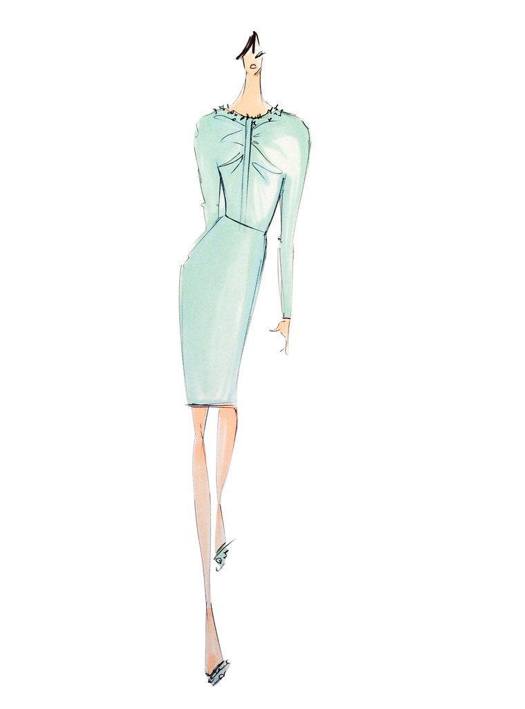 Lucite Green: Christian Siriano