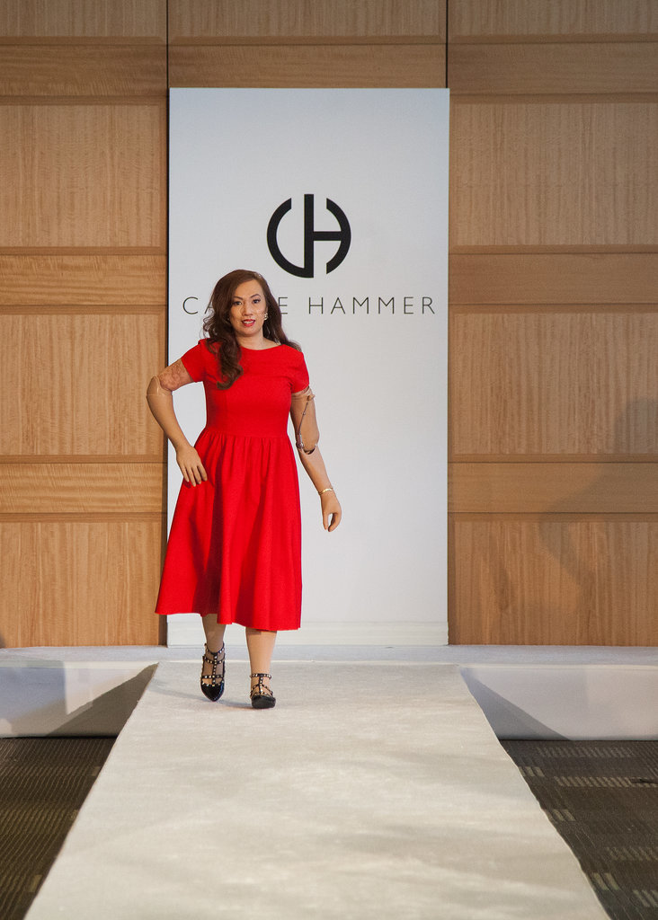 Karen's Runway Debut at the Carrie Hammer Show