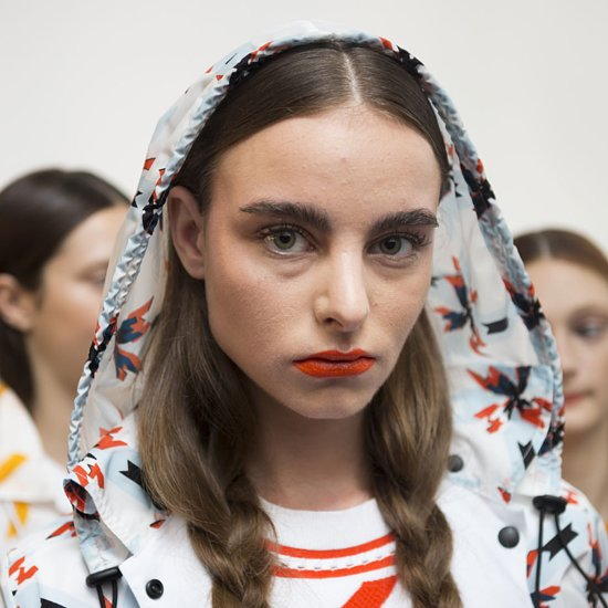 New York Fashion Week Plaits Spring Summer 2015