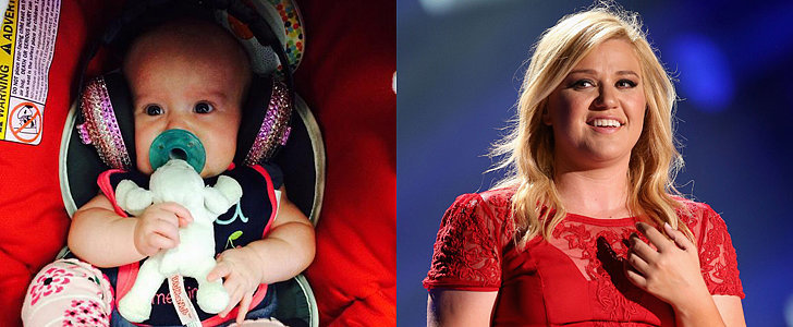 Kelly Clarkson Takes Her Baby Daughter to Her First Concert!
