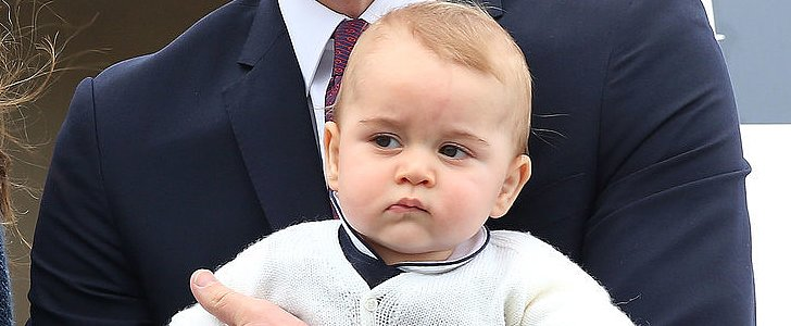 Here's How Prince George Reacted to the New Royal Baby News