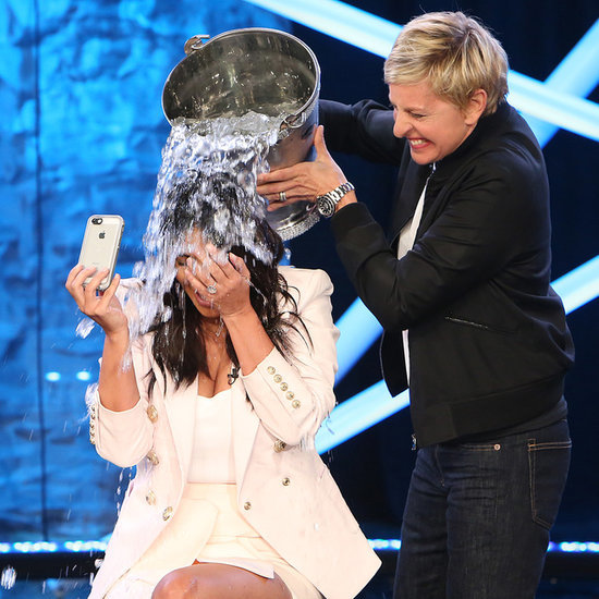 Kim Kardashian Full ALS Ice Bucket Challenge Video On Ellen