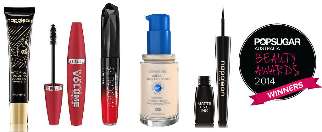 POPSUGAR Australia Beauty Awards 2014: The Winning Makeup Products